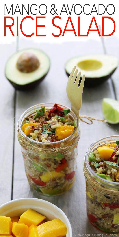 Rice Salad Pinterest
