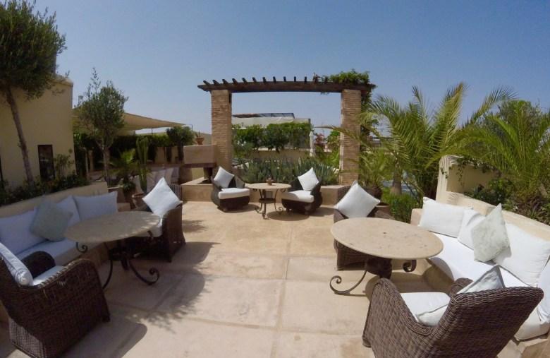 Riad Camilia Marrakech rooftop terrace