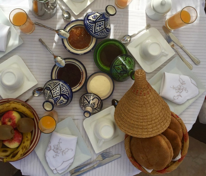 breakfast Riad Camilia