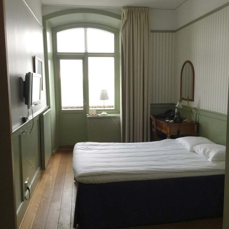room at the Waxholms Hotell