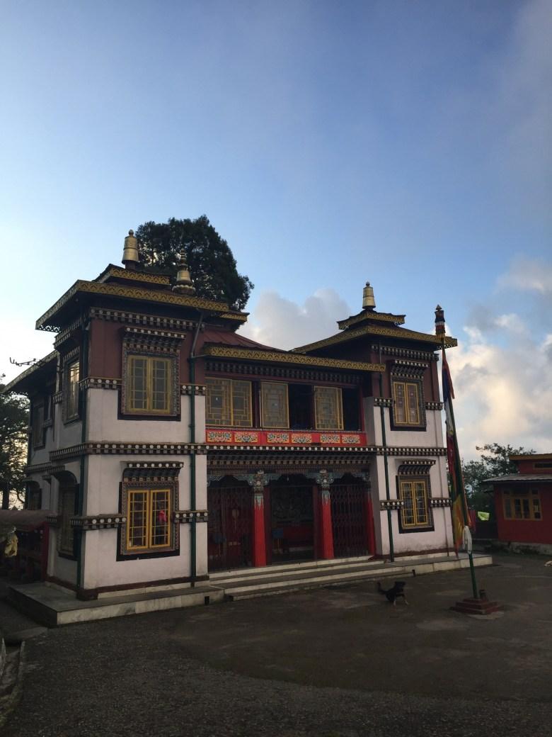 Bhutia Busty Gompa in Darjeeling India