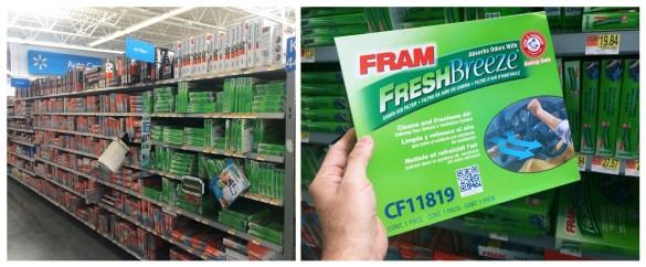 Fram Fresh Filters at Walmart