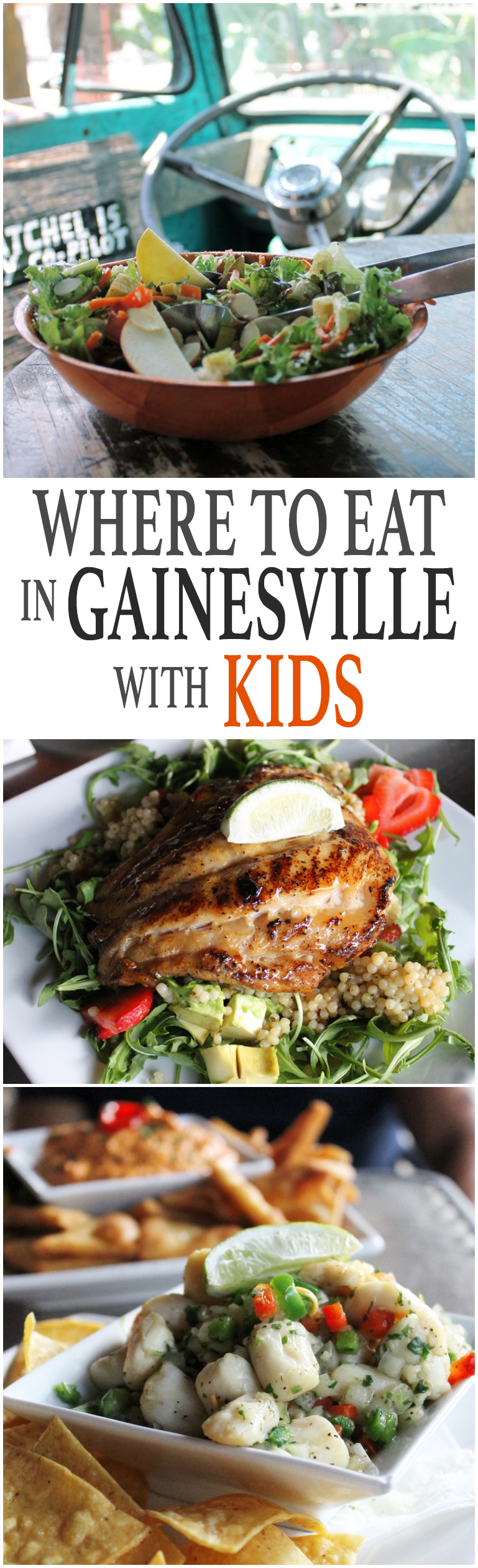 Where to eat in Gainesville with kids