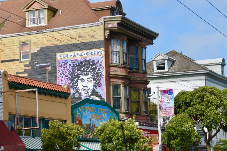 The Haight Ashbury district in San Francisco