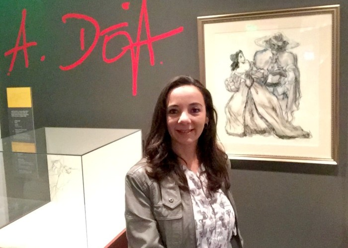 The Walt Disney Family Museum and the Art Of Andreas Deja #TheLionKing