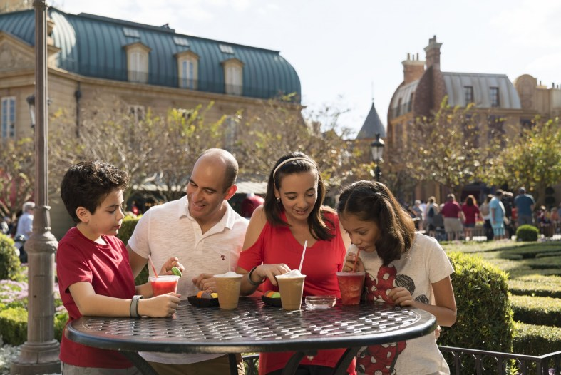 Tasting dishes from around the world at Epcot