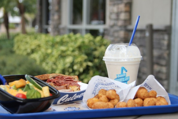 Cheese curds at Culvers