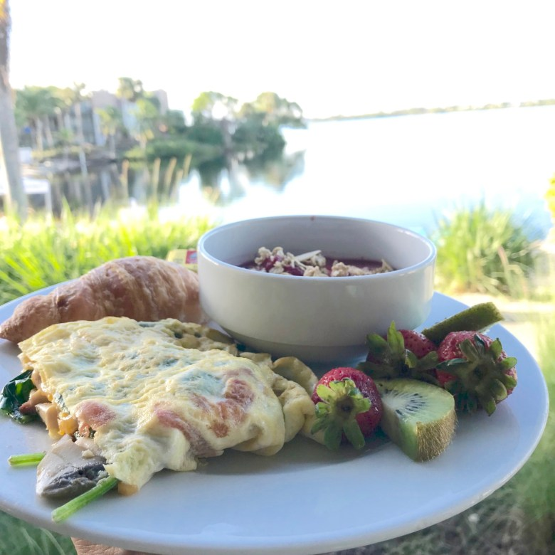 breakfast at Club Med Sandpiper Bay