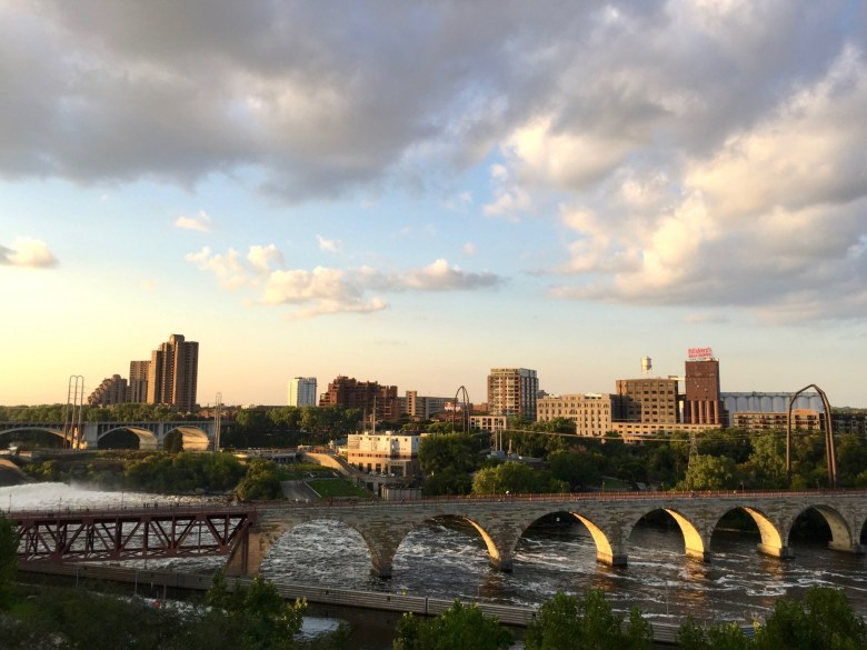 Minneapolis, view from the Guthrie Theater