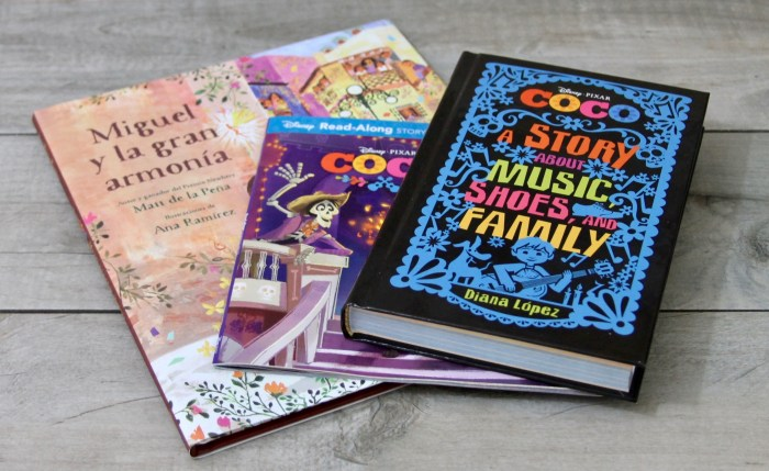 Coco Disney Pixar books