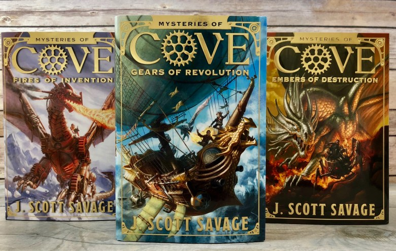 Great Fantasy Adventure Chapter Books for Middle School Kids