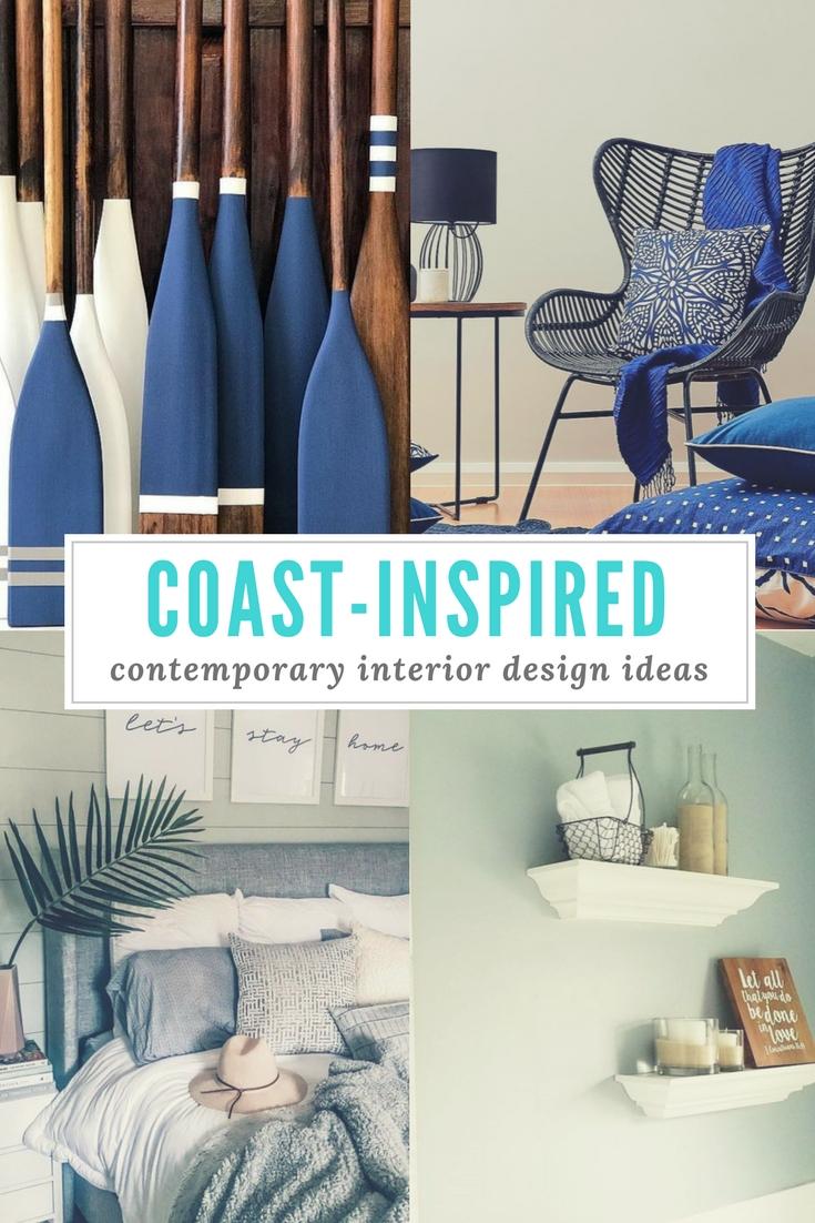 Coast-Inspired Contemporary Interior Decor Ideas