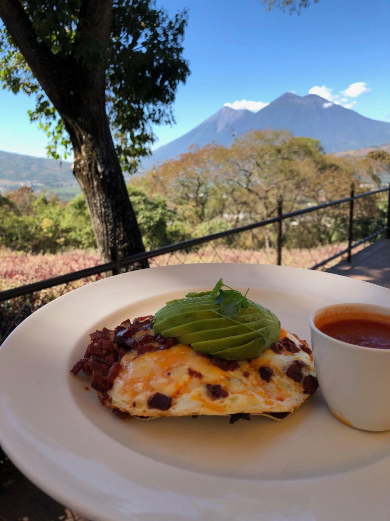 Tenedor del Cerro in Antigua Guatemala