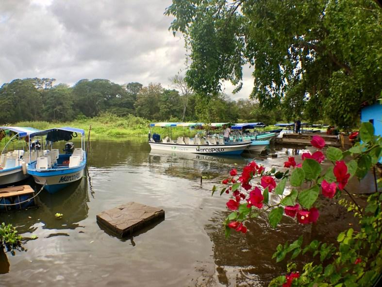 boats in lake Nicaragua