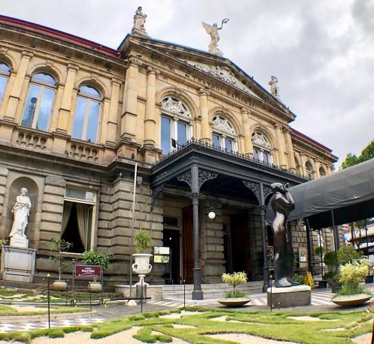 Teatro Nacional in San Jose Costa Rica