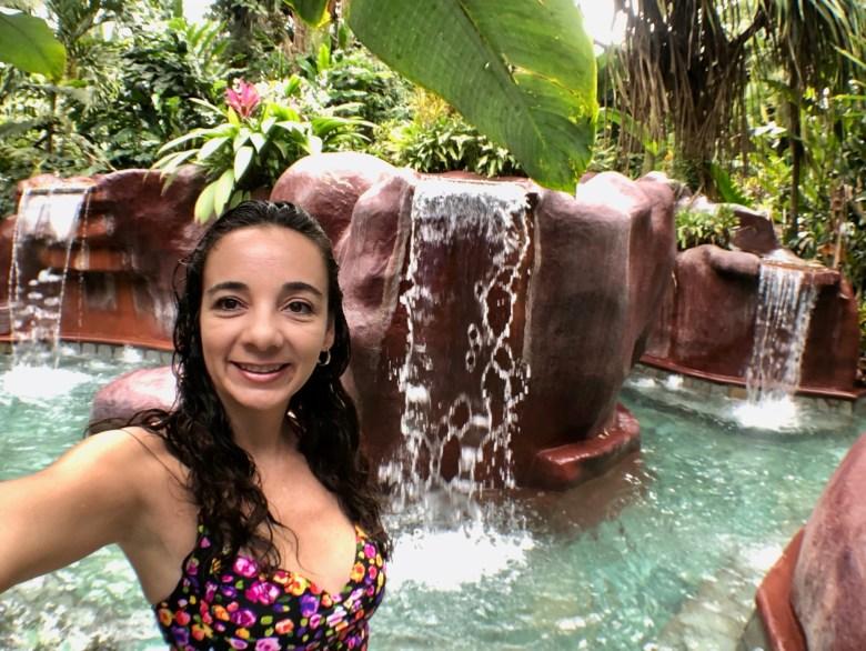 Baldi Hot Springs in Costa Rica