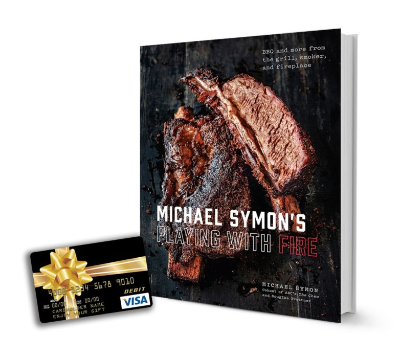 Playing with fire cookbook Michael Symon