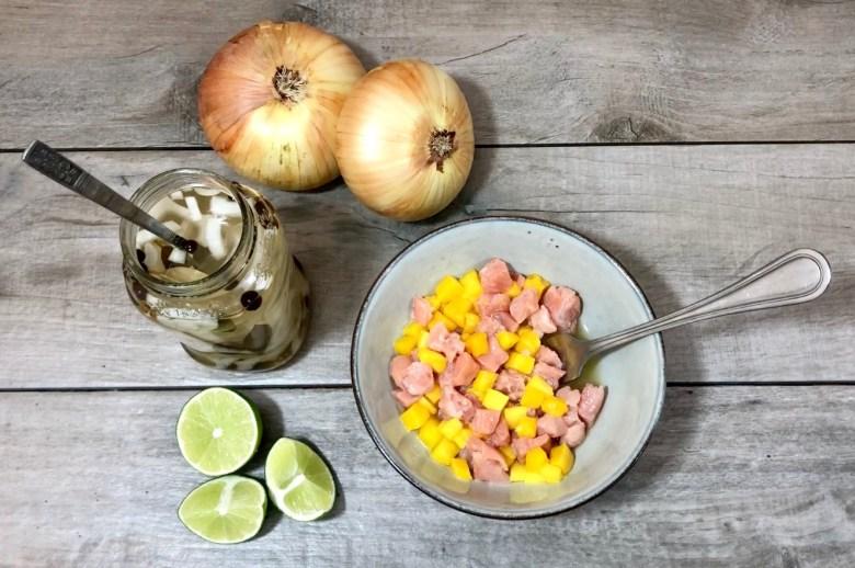 salmon and mango ceviche recipe