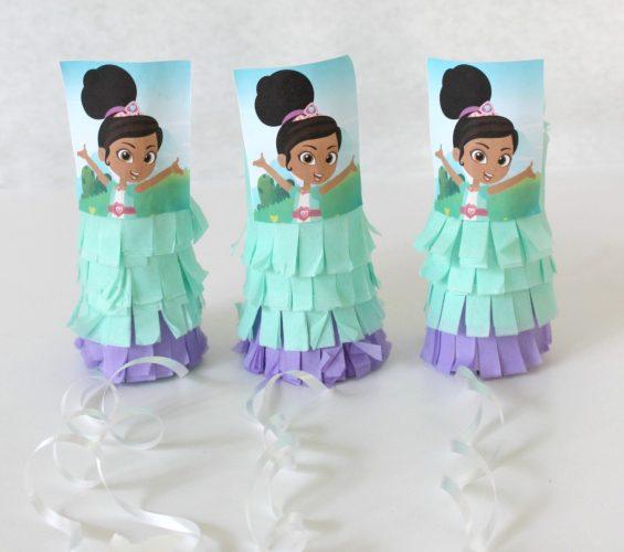 Nella the Princess Knight DIY Mini Piñatas