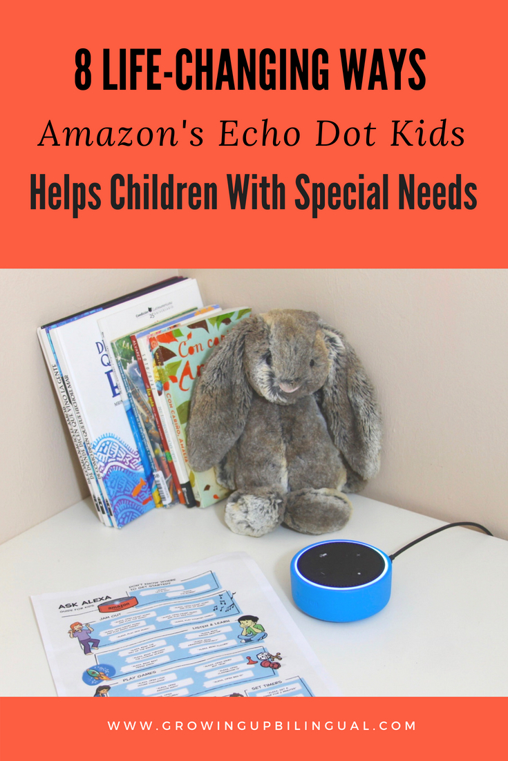 8 Life-Changing Ways Amazon's Echo Dot Kids Edition Helps Children With Special Needs