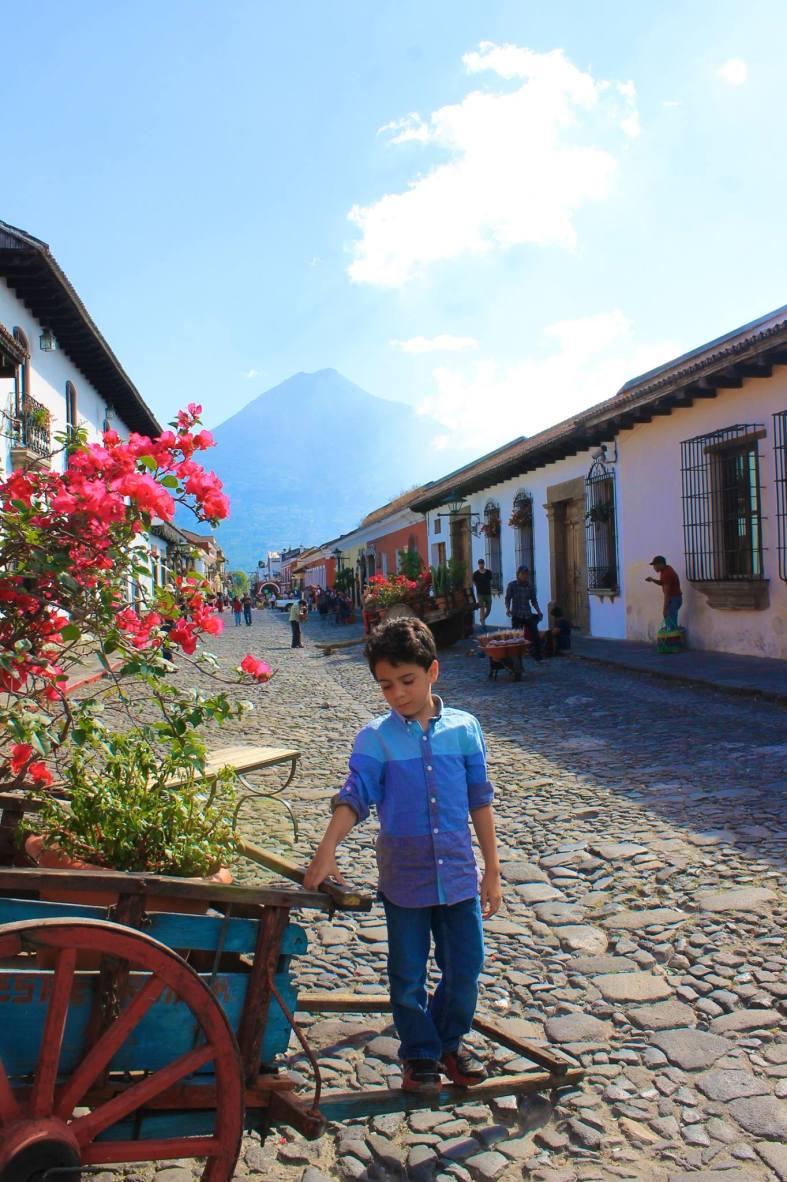 boy in Antigua Guatemala