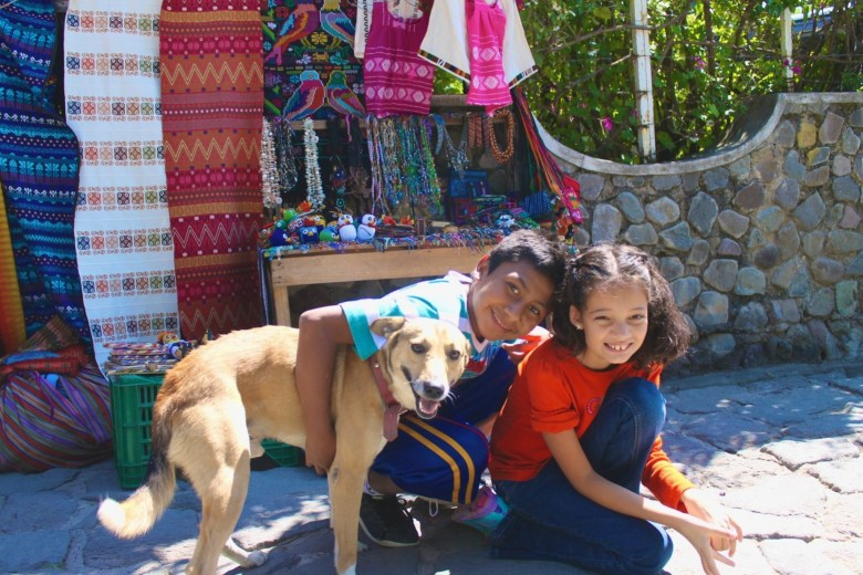 Connecting with the local community and making friends in Guatemala