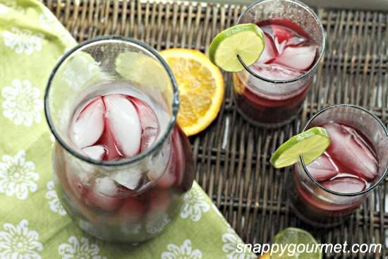 Blackberry Vodka Sangria plus 10 Fantastic Cocktails for Your Day of the Dead Celebration