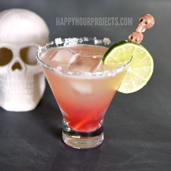 Bloodshot Margarita plus 10 Fantastic Cocktails for Your Day of the Dead Celebration