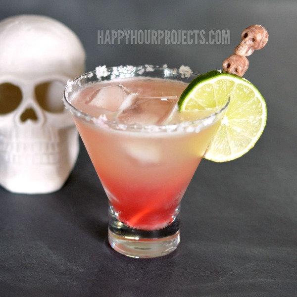 Bloodshot Margarita plus 10 Fantastic Cocktails for Your Day of the Dead Celebration