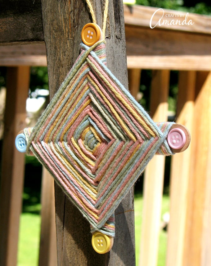 Ojo de Dios craft for kids and other Latin American crafts to celebrate Hispanic Heritage Month