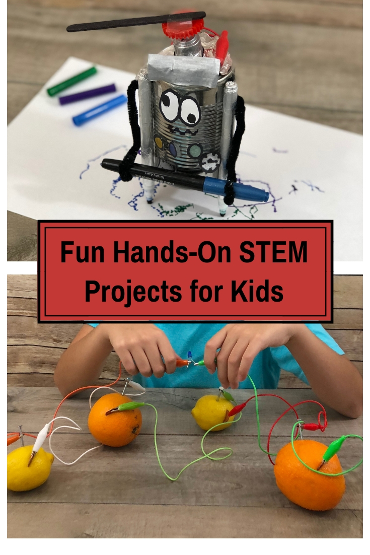 Fun and easy hands on STEM projects for kids