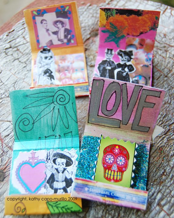 Matchbox shrines for Dia de los Muertos plus 15 easy Day of the Dead Crafts for kids. These make the perfect art project for kids to learn about Dia de los Muertos.