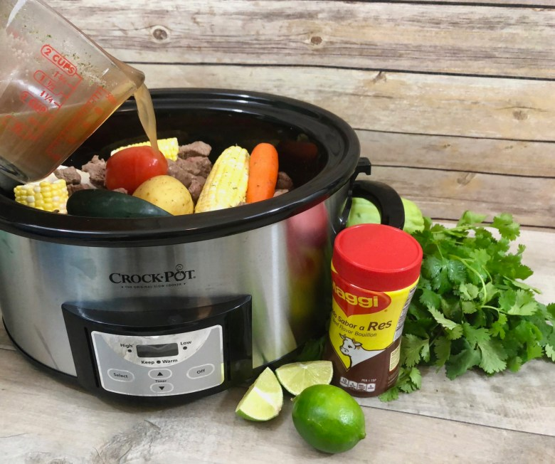 easy slow cooker Guatemalan cocido recipe