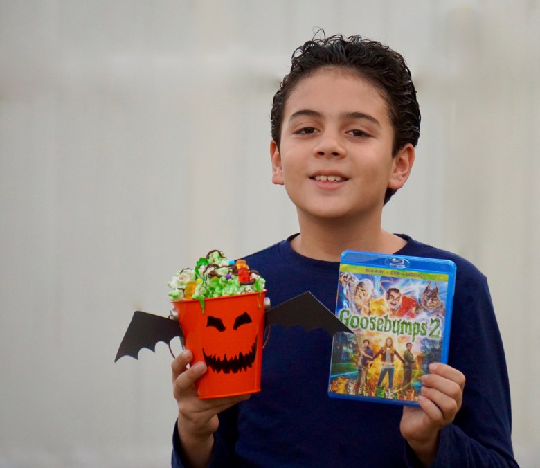 Goosebumps 2 Inspired Movie Night Party Ideas. Halloween party Ideas.