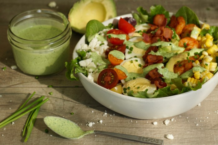 Chipotle Shrimp Cobb Salad