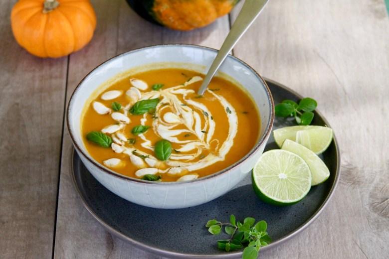 Acorn Squash Pumpkin Soup