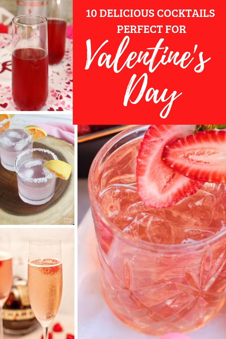 10 delicious cocktails that are perfect for Valentine's Day