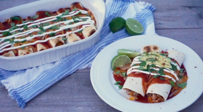 Chipotle Fish Enchiladas