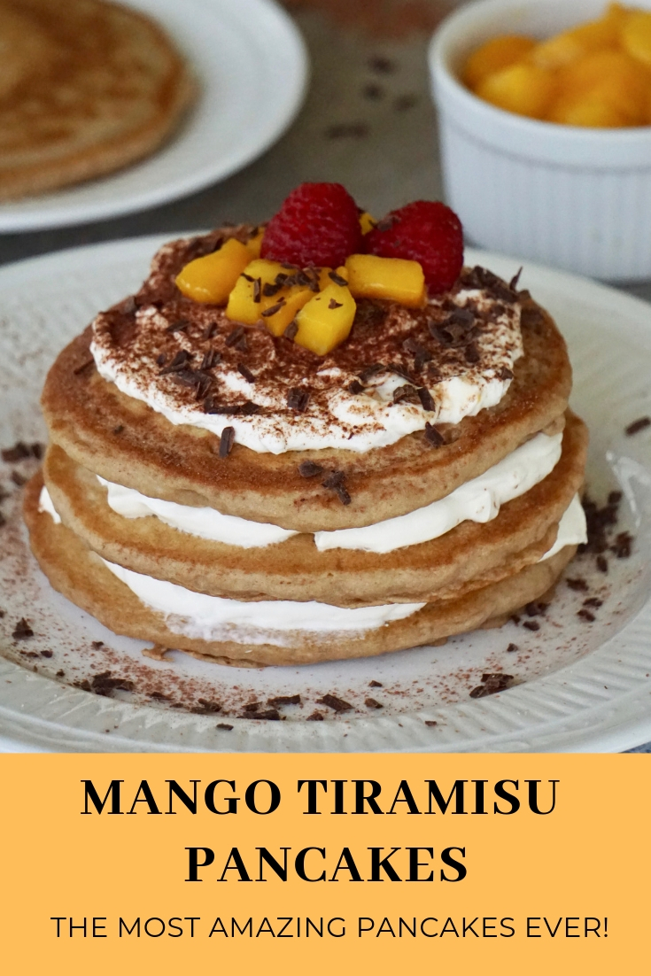 easy and delicious mango tiramisu pancakes