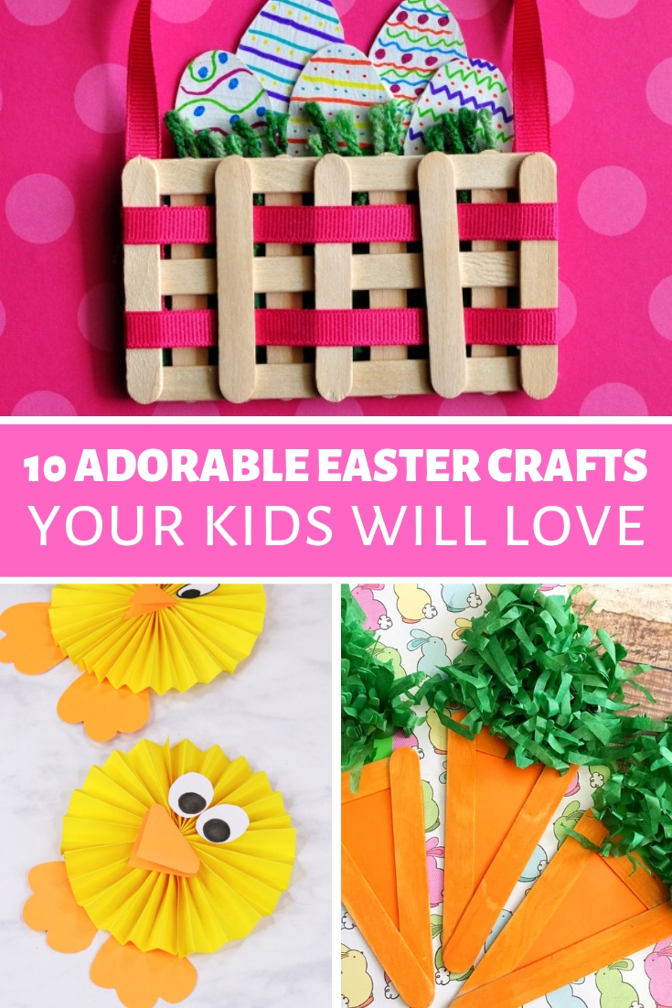 10 Fun And Easy Easter Crafts For Kids