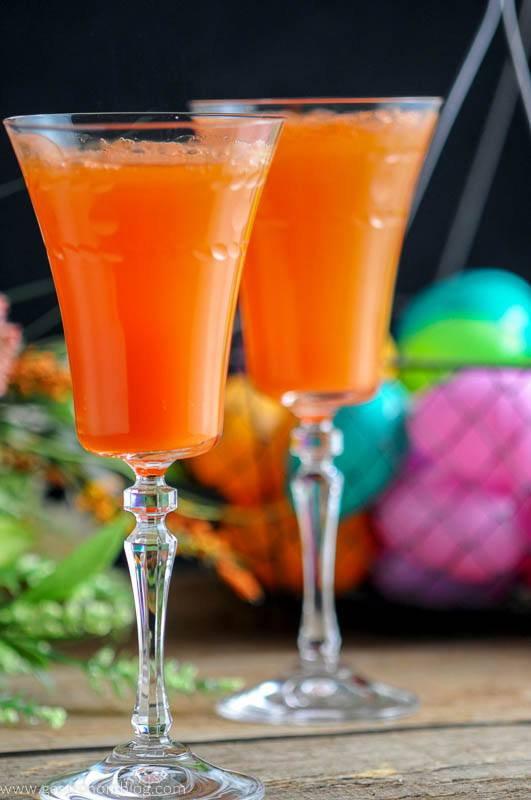 Carrot Ginger Mimosa nd other favorite Easter cocktails