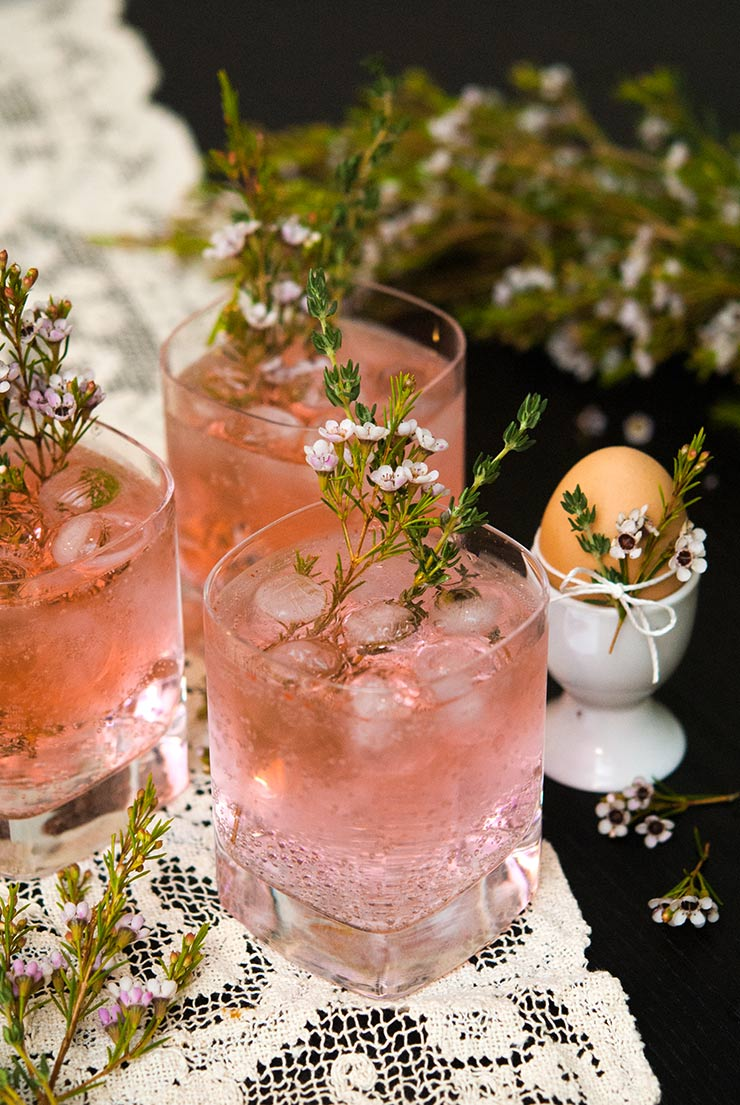 Pink Gin and Tonic and other favorite Easter cocktails