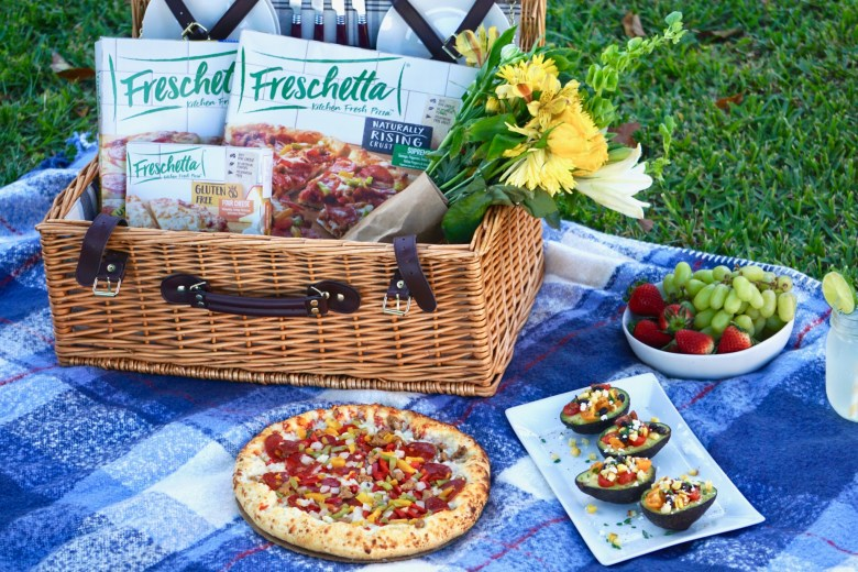 Grilled Pizza Picnic Ideas