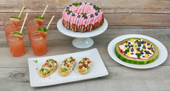 Simple and Fantastic Recipes for a Backyard Summer Party