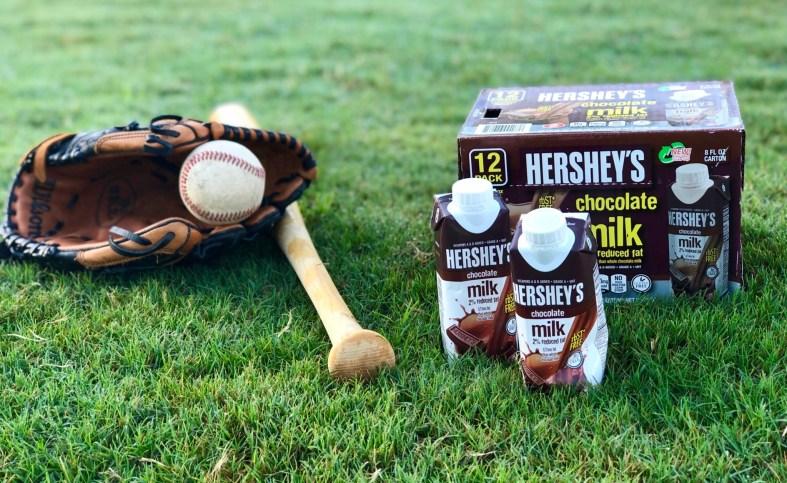 Hershey's shelf stable chocolate milk