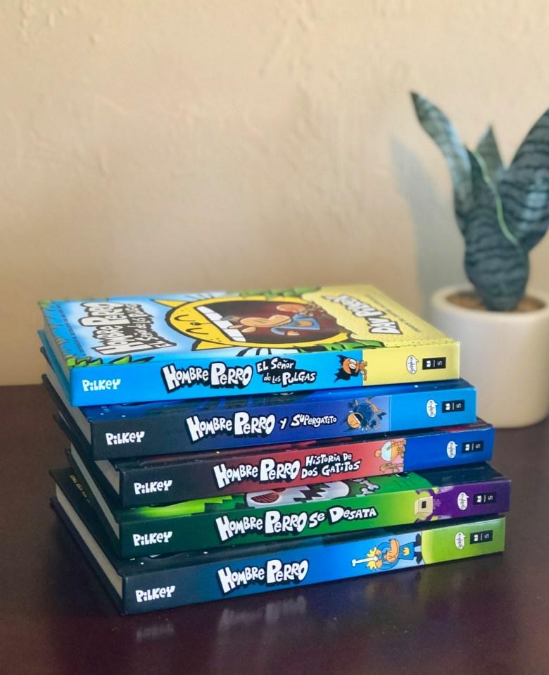 Hombre Perro books in Spanish for kids
