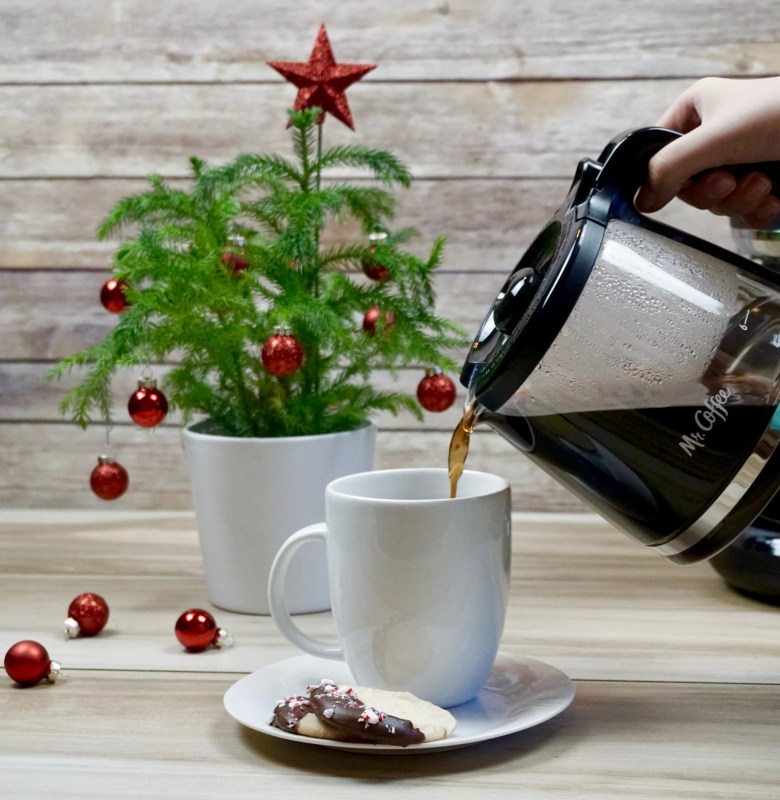 holiday coffee recipe with Mr Coffee coffee maker