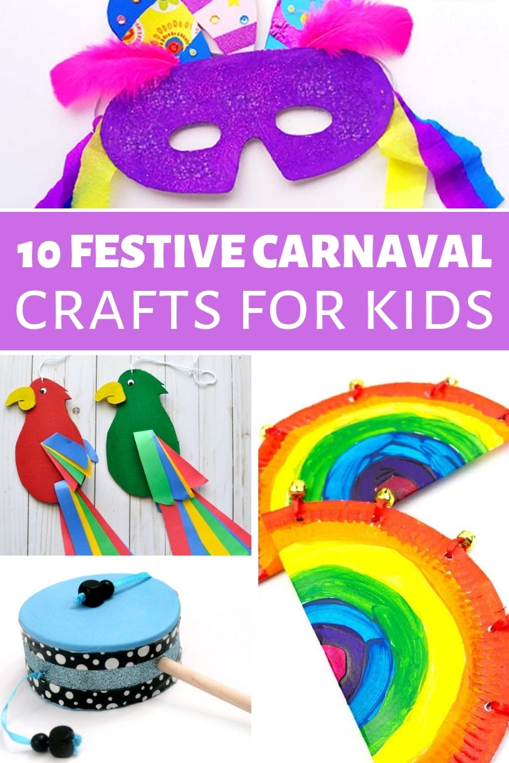 Carnaval Crafts for kids