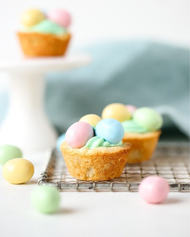 Easy Easter Cookie Cups