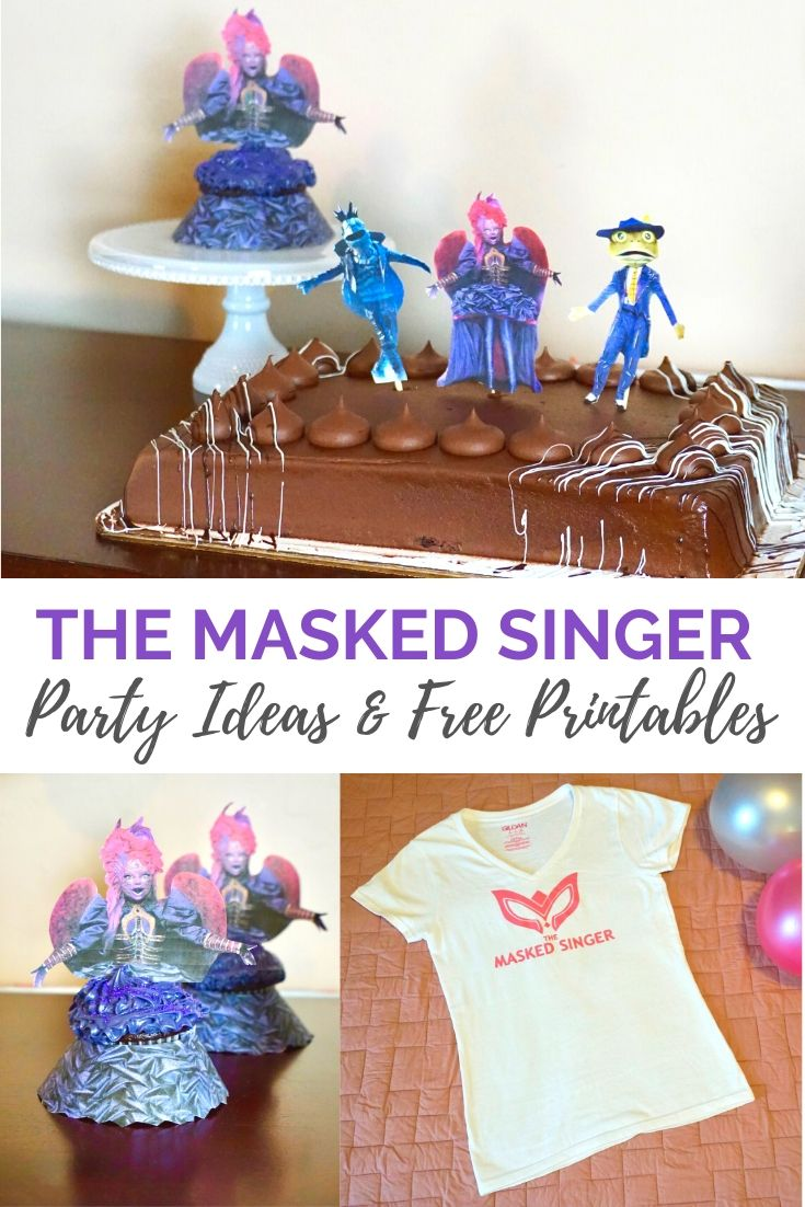 The Masked Singer Season Party Ideas and Free Printables